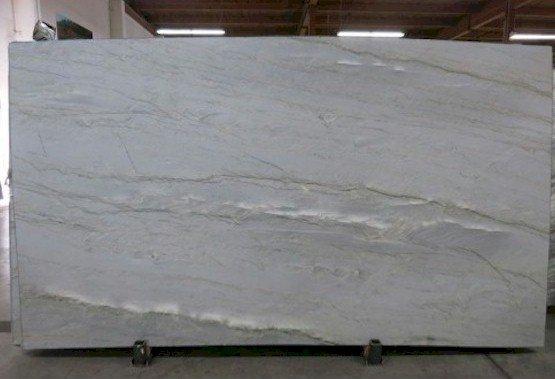 Allure White Leather Quartzite